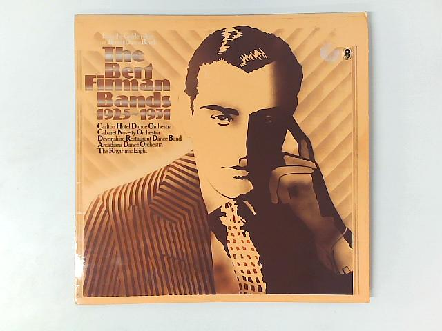The Bert Firman Bands 1925-1931 2xLP COMP GATEFOLD By Bert Firman