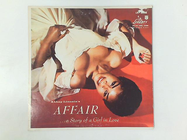 Abbey Lincoln's Affair... A Story Of A Girl In Love LP RP By Abbey Lincoln