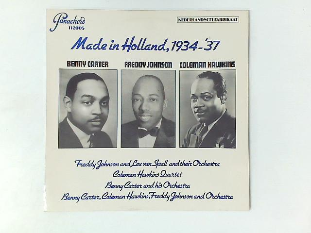 Made In Holland, 1934-'37 LP COMP By Various