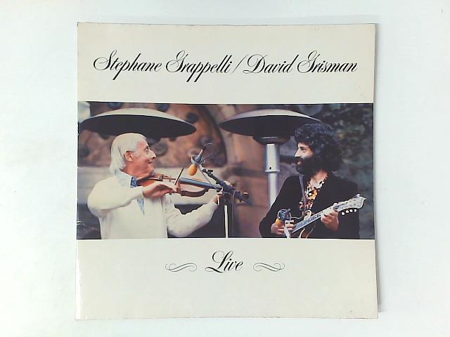 Live LP By Stphane Grappelli