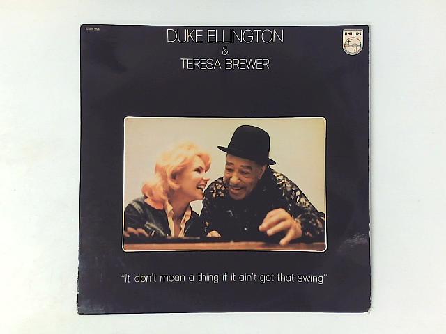 It Don't Mean A Thing If It Ain't Got That Swing LP By Duke Ellington