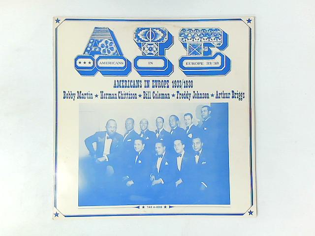 AIE (Americans In Europe 1933/1938) LP COMP By Various