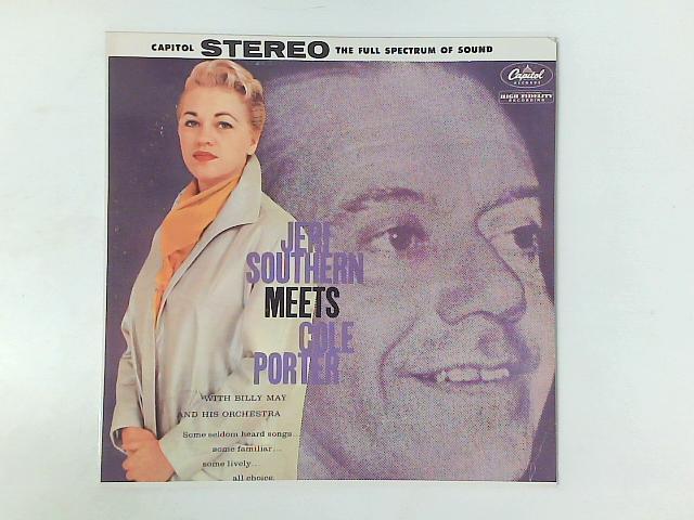 Jeri Southern Meets Cole Porter LP By Jeri Southern