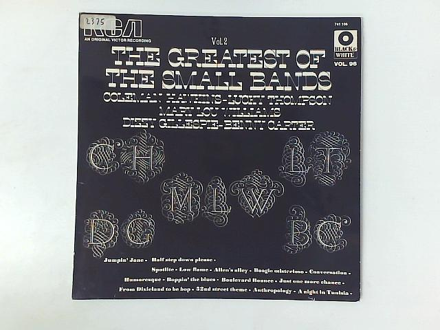 The Greatest Of The Small Bands Vol. 2 LP COMP By Coleman Hawkins