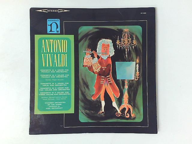 Concertos For Violins, Concertos For Piccolo LP By Antonio Vivaldi