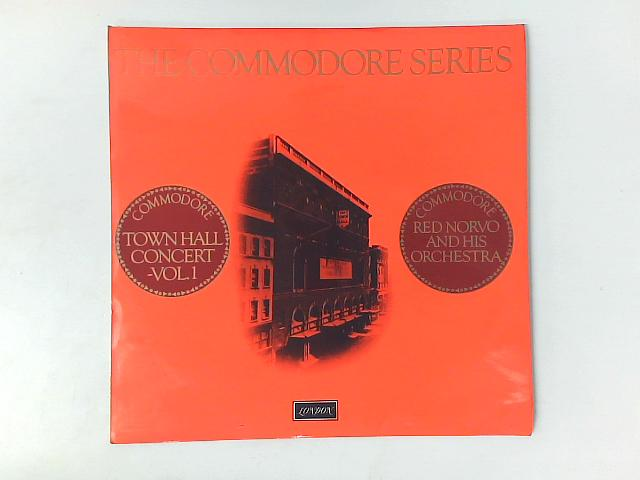 Town Hall Concert Vol. 1 LP By Red Norvo And His Orchestra