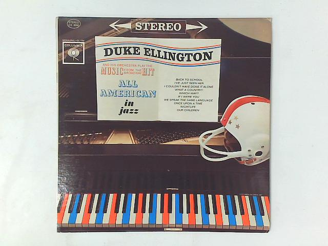 All American In Jazz LP By Duke Ellington And His Orchestra
