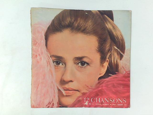 Jeanne Moreau N°2 - 12 Chansons LP By Jeanne Moreau