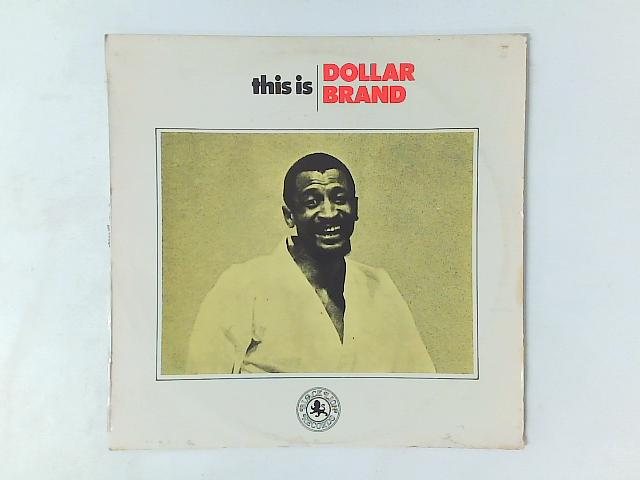 This Is Dollar Brand LP By Dollar Brand