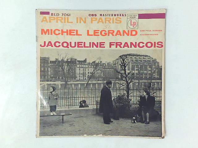 April In Paris LP By Jacqueline Franois