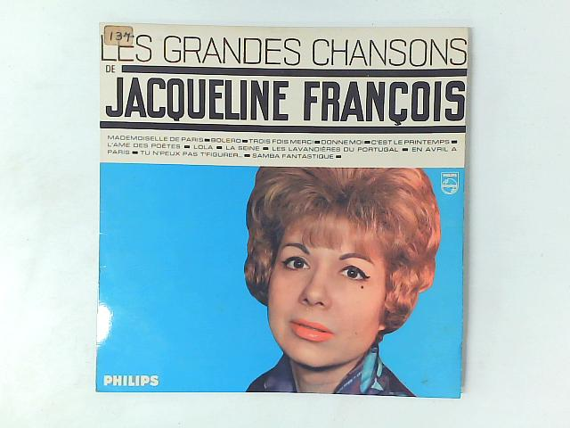 Les Grandes Chansons de Jacqueline François LP COMP By Jacqueline Franois