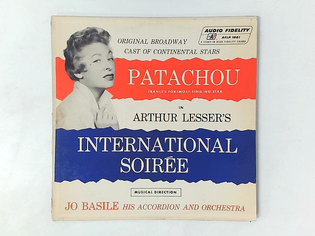 Patachou In Arthur Lesser's International Soiree LP By Patachou
