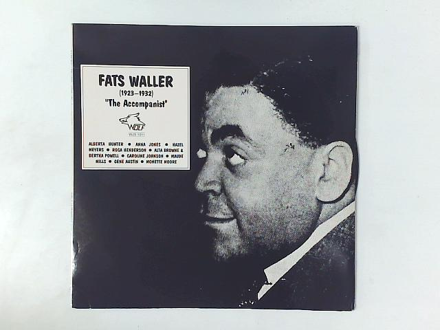 The Accompanist (1923-1932) LP COMP By Fats Waller