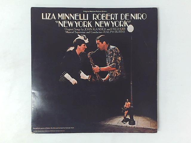 New York, New York (Original Motion Picture Score) 2xLP GATEFOLD By Liza Minnelli