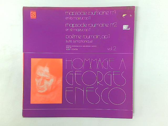 Rhapsodie Roumaine, Poème Roumain LP GATEFOLD By George Enescu