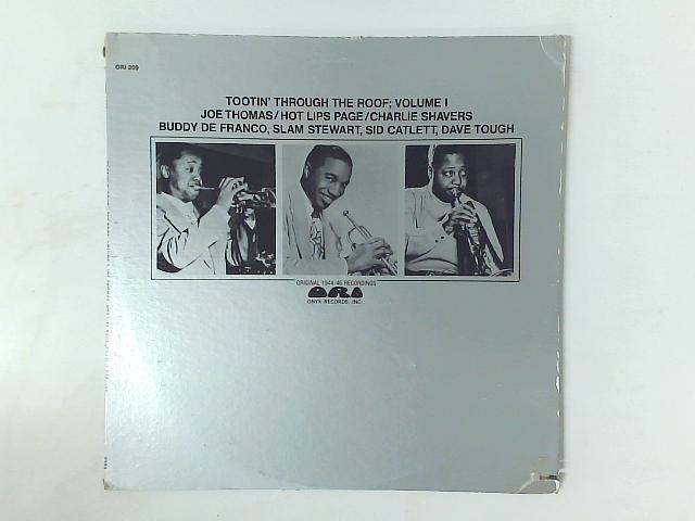 Tootin' Through The Roof; Volume 1 (Original 1944-46 Recordings) LP By Joe Thomas (4)