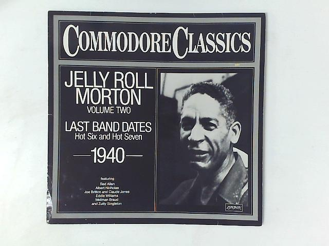 Jelly Roll Morton Volume Two LP COMP By Jelly Roll Morton