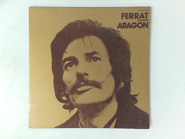 Ferrat Chante Aragon LP GATEFOLD By Jean Ferrat