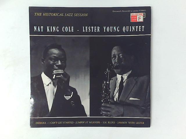 The Historical Jazz Session LP By Nat King Cole
