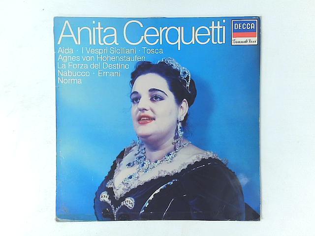 Anita Cerquetti LP By Anita Cerquetti