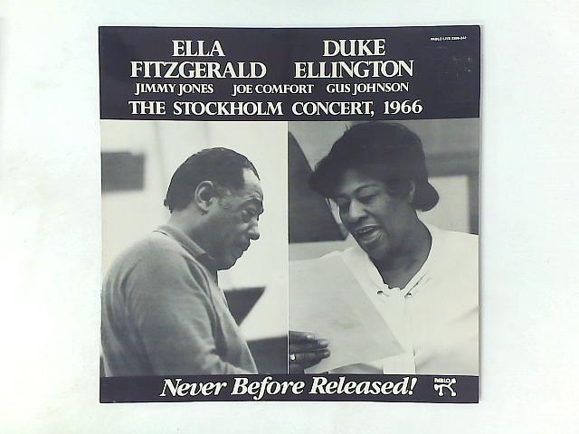 The Stockholm Concert, 1966 LP By Ella Fitzgerald