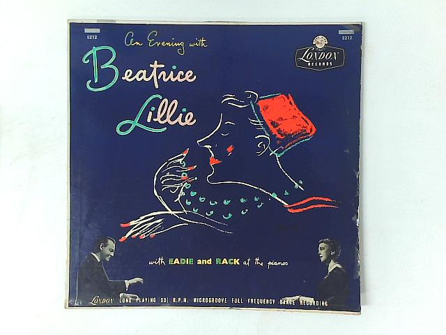 An Evening With Beatrice Lillie LP By Beatrice Lillie
