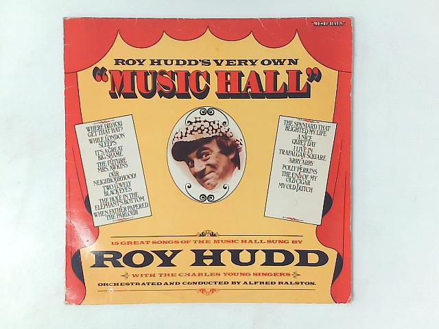Roy Hudd's Very Own Music Hall LP with PRINTED INSERT By Roy Hudd