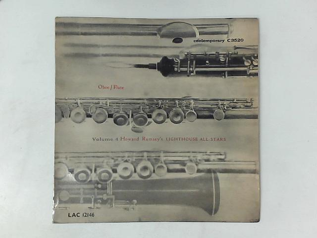 Volume 4, Oboe/Flute LP By Howard Rumsey's Lighthouse All-Stars