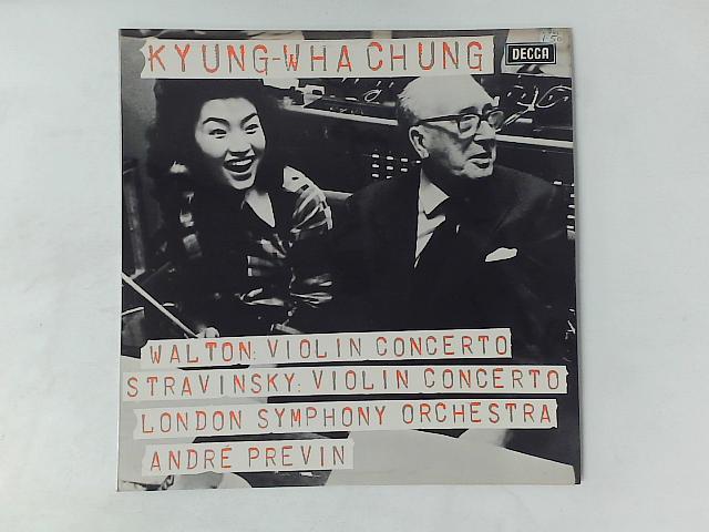 Violin Concertos LP By Sir William Walton