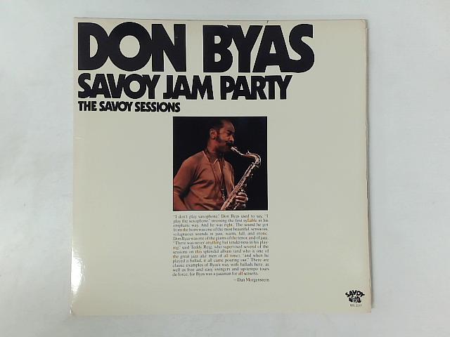 Savoy Jam Party 2xLP COMP GATEFOLD By Don Byas