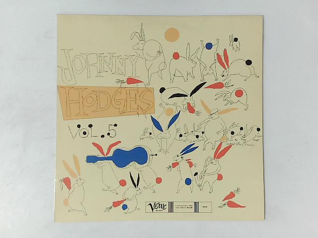 The Rabbit's Work On Verve Vol. 5 LP By Johnny Hodges And His Orchestra