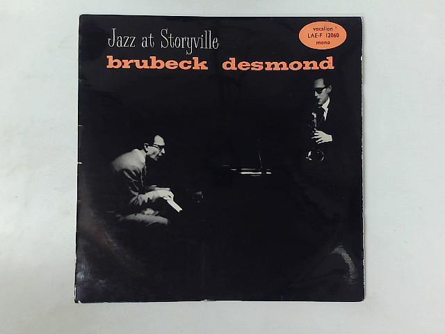 Jazz At Storyville LP By The Dave Brubeck Quartet