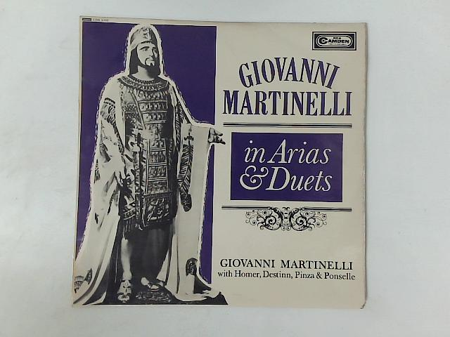 In Arias And Duets LP By Giovanni Martinelli