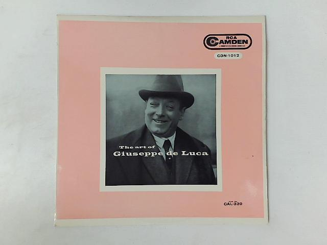 The Art Of Giuseppe De Luca LP By Giuseppe De Luca (3)