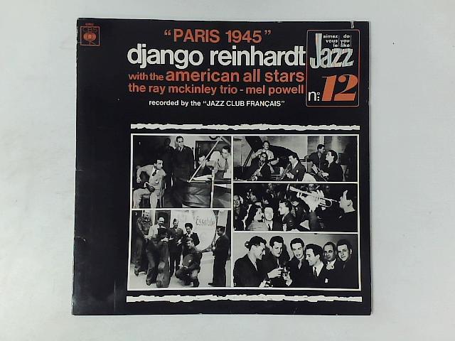 Paris 1945 LP By Django Reinhardt