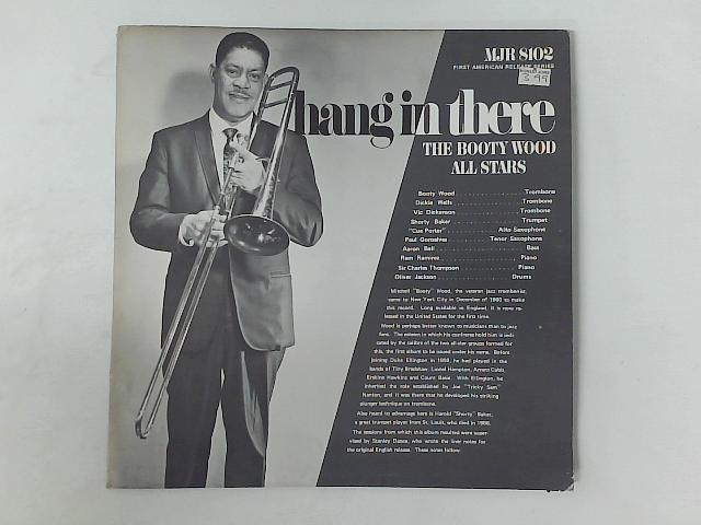Hang In There LP By The Booty Wood All Stars