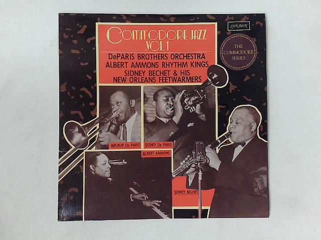 Commodore Jazz Vol.1 LP COMP By De Paris Brothers Orchestra
