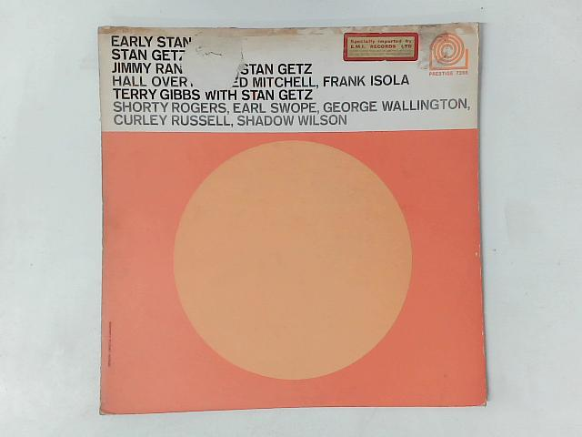 Early Stan LP By Stan Getz