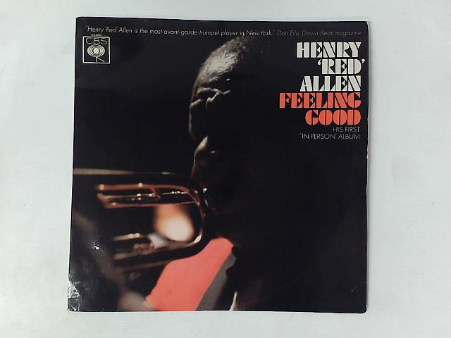 """Feelin' Good: His First In Person Album LP By Henry """"Red"""" Allen"""