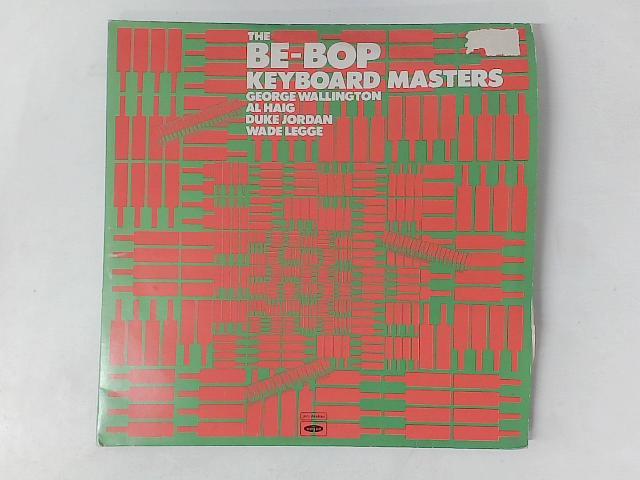 The Be-Bop Keyboard Masters 2xLP COMP GATEFOLD By George Wallington