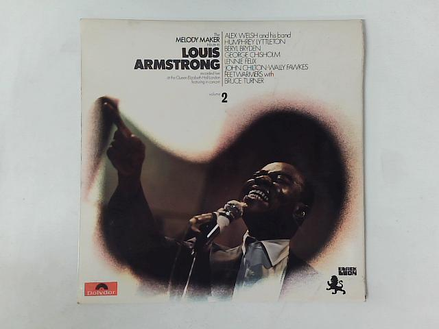The Melody Maker Tribute To Louis Armstrong Volume 2 LP COMP By Various