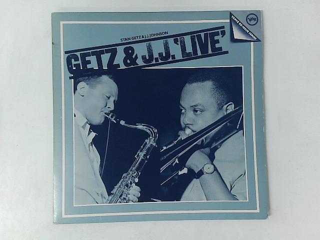 Getz & J.J. 'Live' - Stan Getz & J.J. Johnson 2xLP COMP GATEFOLD By Stan Getz