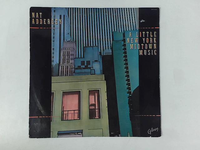 A Little New York Midtown Music LP By Nat Adderley