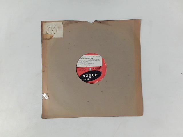 Oscar Pettiford Sextet 10in LP NOT IN ORIGINAL SLEEVE, PLAIN SLEEVE INCLUDED By Oscar Pettiford Sextet