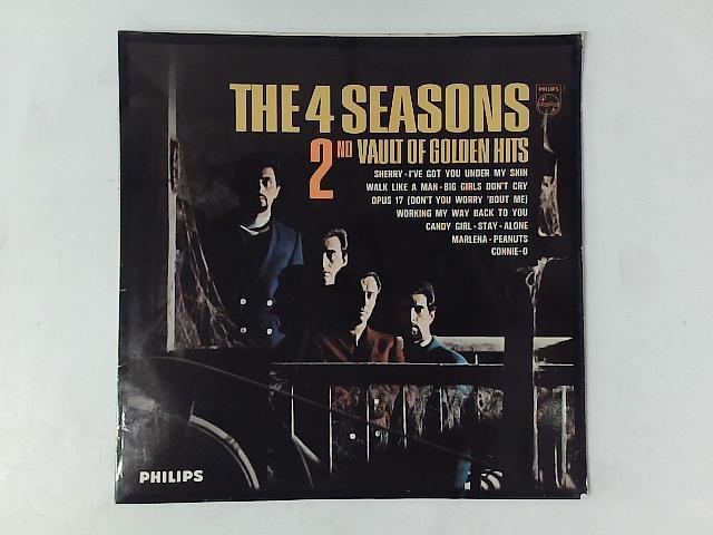 2nd Vault Of Golden Hits LP By The Four Seasons
