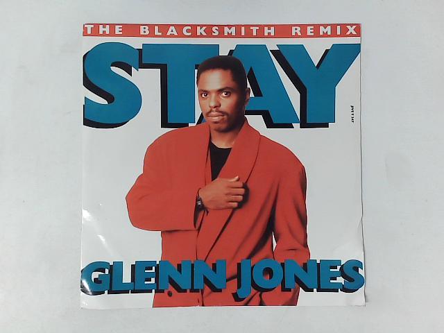 Stay 12in Single By Glenn Jones