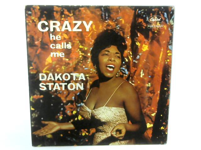 Crazy He Calls Me LP By Dakota Staton