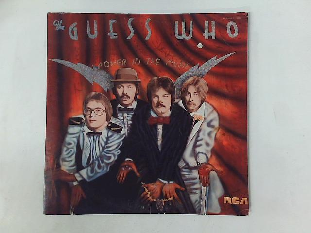 Power In The Music LP By The Guess Who