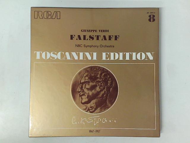 Falstaff 3x LP box set By Giuseppe Verdi