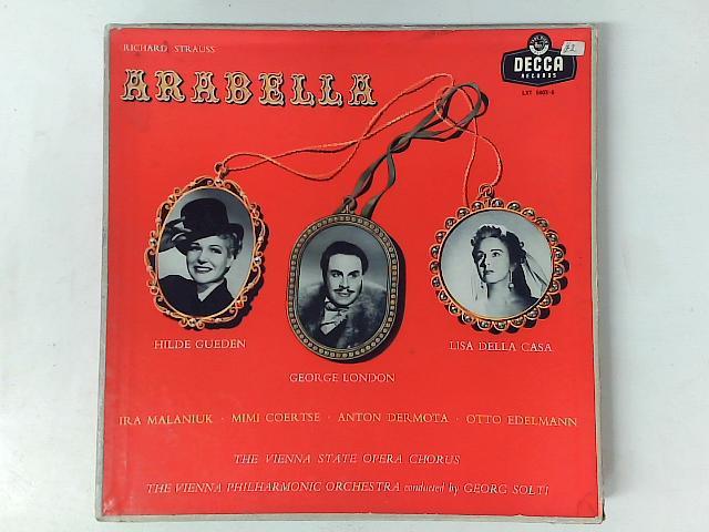 Arabella 4x LP box set By Richard Strauss